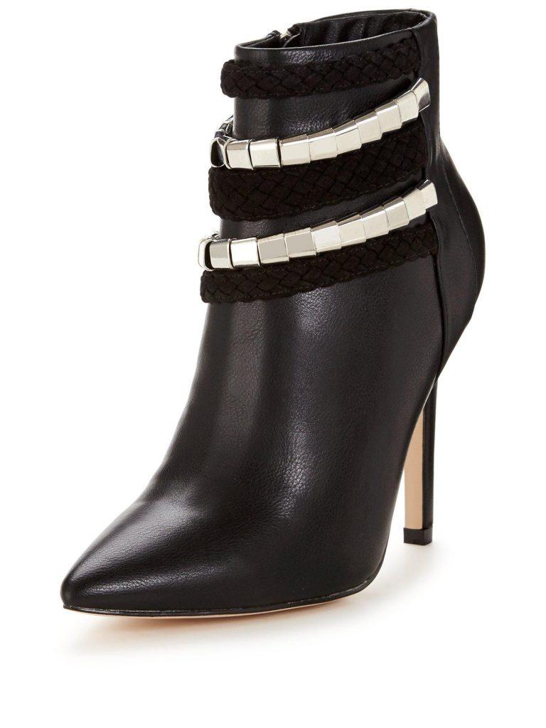 winter boots stilettos