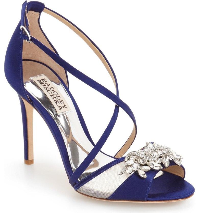 embellished evening sandal