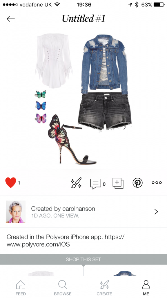 Polyvore Style Board