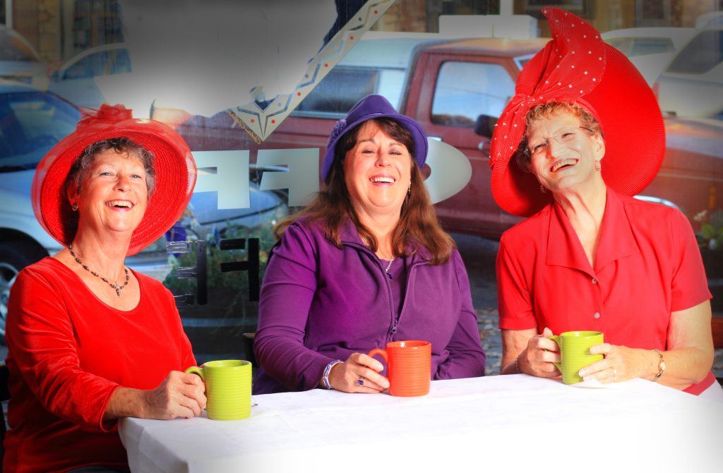 clothing choices red hat society