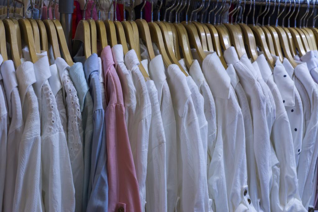 white shirt shape