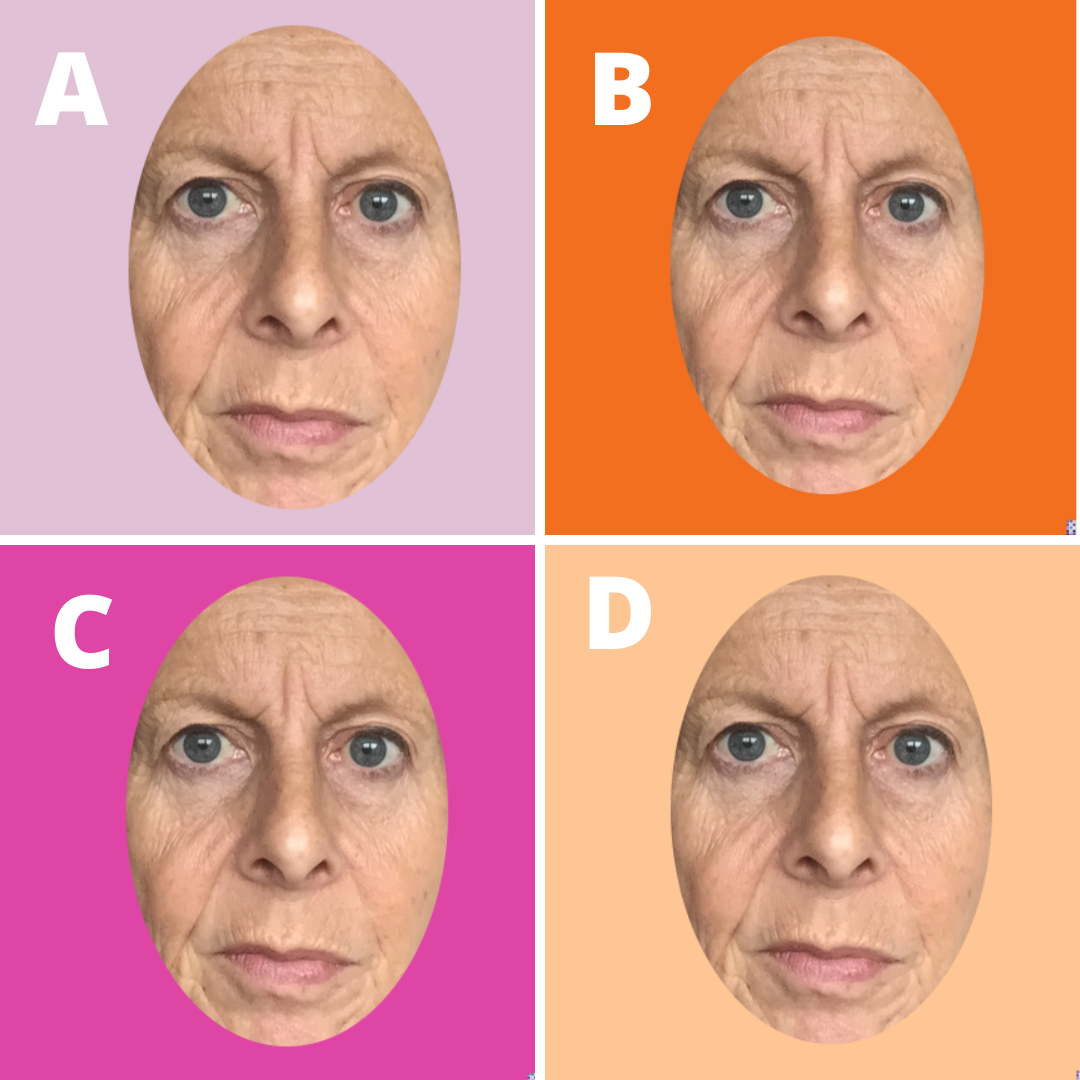 Online Colour Analysis Comparing Orange & Pink